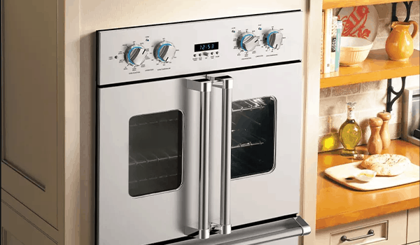 how to clean a viking french door oven