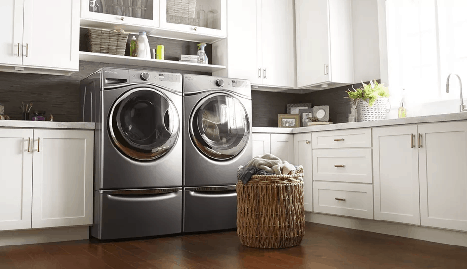 whirlpool duet washer won't spin or drain