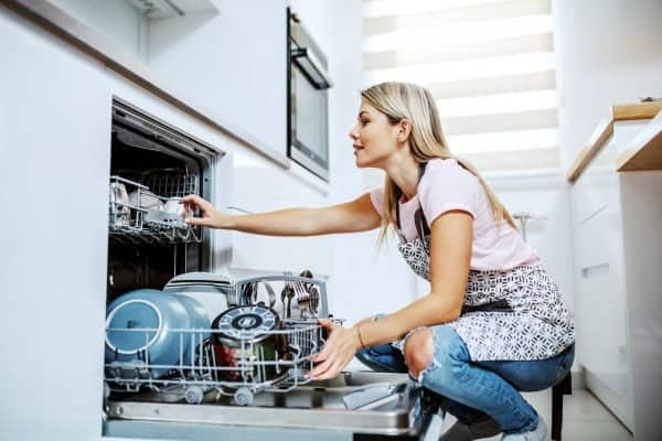dishwasher leaking from the bottom